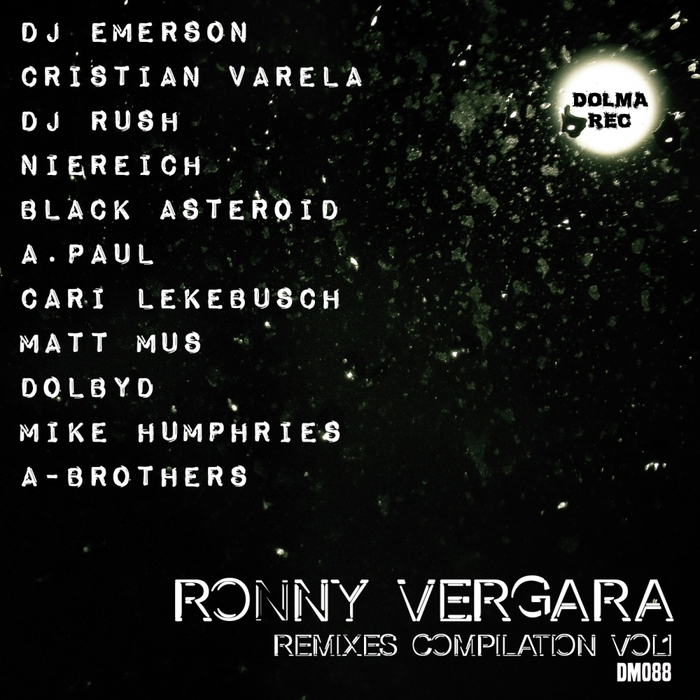 RONNY VERGARA - Remixes Compilation Vol 1
