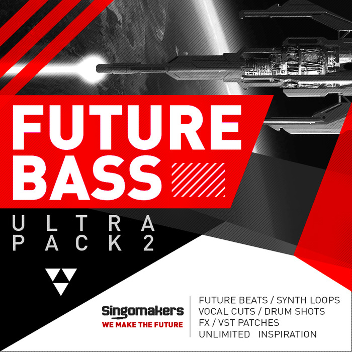 SINGOMAKERS - Future Bass Ultra Pack Vol 2 (Sample Pack WAV/APPLE/LIVE/REASON)