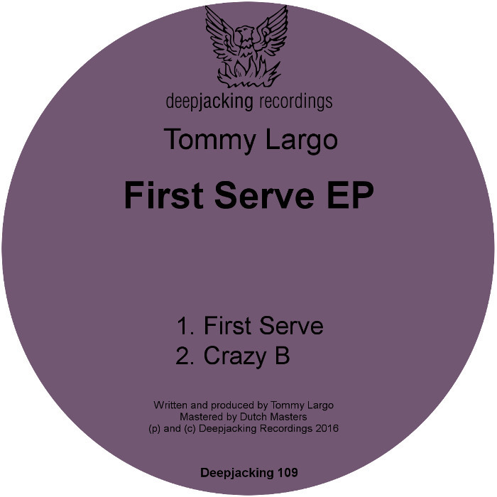 TOMMY LARGO - First Serve EP