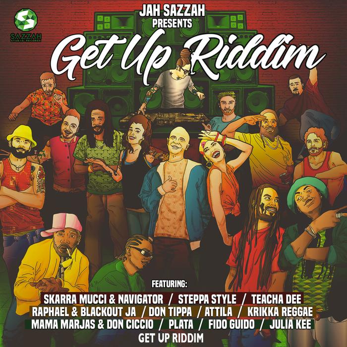 VARIOUS - Jah Sazzah Presents Get Up Riddim