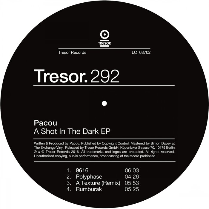 PACOU - A Shot In The Dark EP