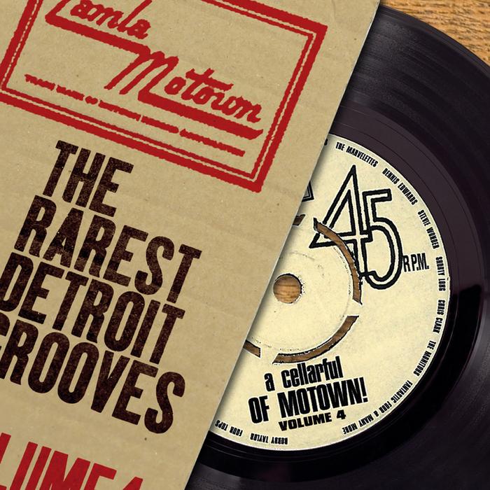 VARIOUS - A Cellarful Of Motown (Vol. 4)