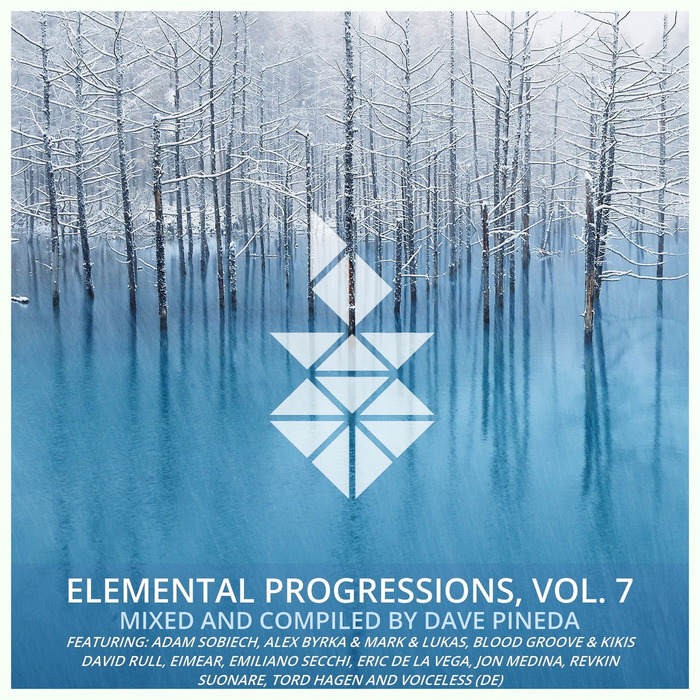 DAVE PINEDA/VARIOUS - Elemental Progressions Vol 7 (unmixed tracks)