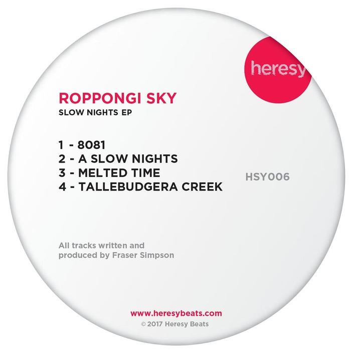 ROPPONGI SKY - Slow Nights
