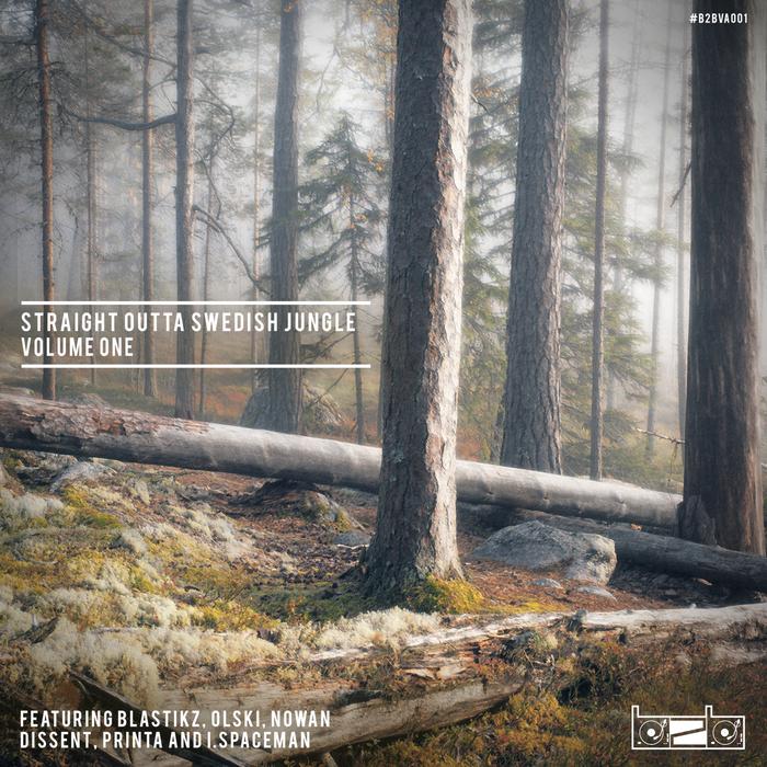 BLASTIKZ/OLSKI/NOWAN/DISSENT/I SPACEMAN/PRINTA - Straight Outta Swedish Jungle a Volume One
