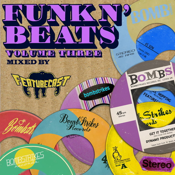 VARIOUS - Funk N' Beats Vol 3 (Mixed By Featurecast)