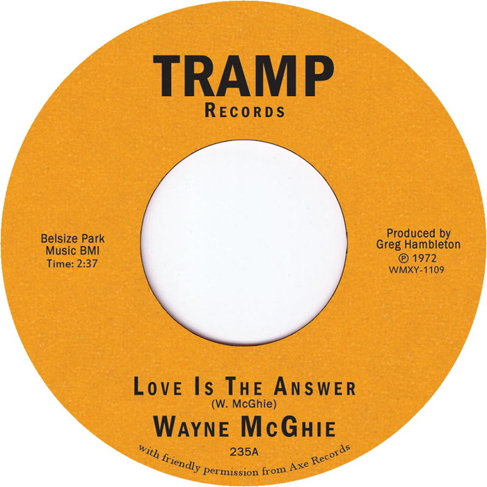 WAYNE MCGHIE - Love Is The Answer