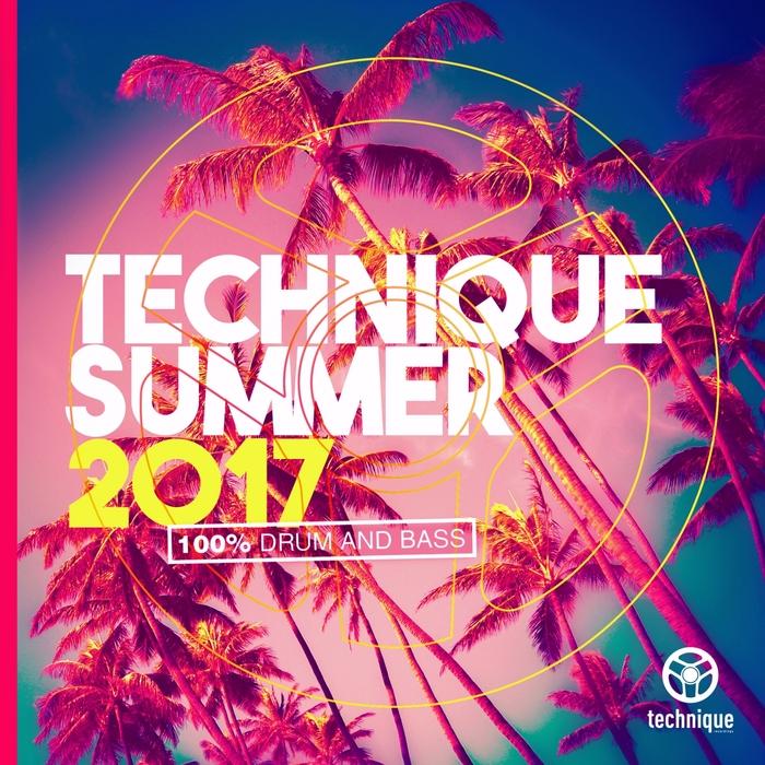 MUFFLER/VARIOUS - Technique Summer 2017 (100% Drum & Bass) (unmixed Tracks)