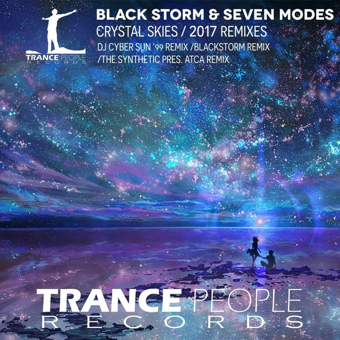 BLACKSTORM & SEVEN MODES - Crystal Skies (2017 Remixes)