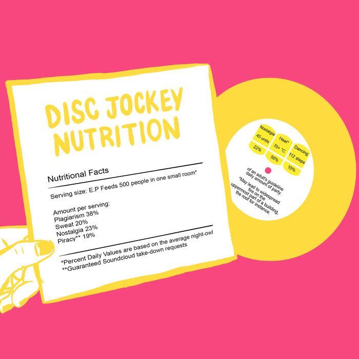 DISC JOCKEY NUTRITION - Disc Jockey Nutrition EP 5