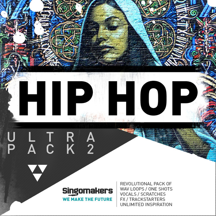 SINGOMAKERS - Hip Hop Ultra Pack 2 (Sample Pack WAV/APPLE/LIVE/REASON)