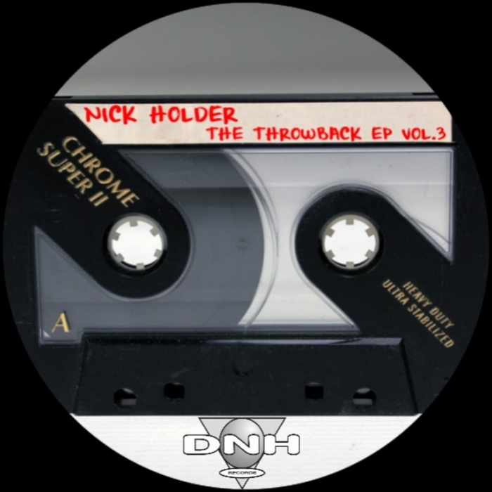 NICK HOLDER - The Throwback EP Vol 3