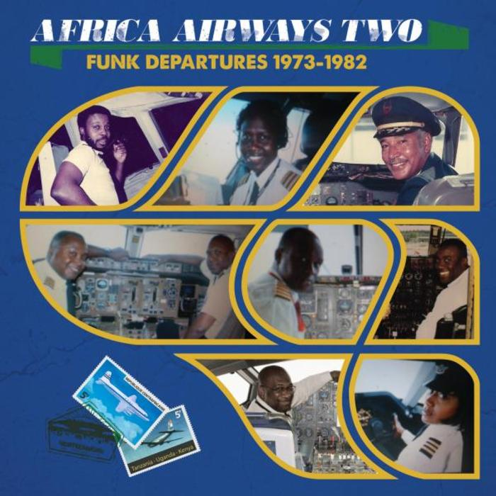 VARIOUS - Africa Airways 02 (Funk Departures 1973-1982)