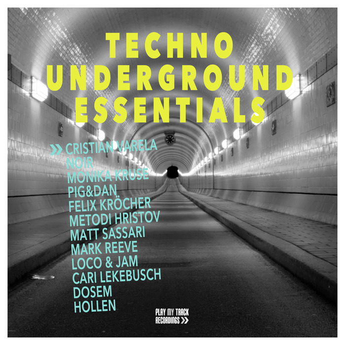 VARIOUS - Techno Underground Essentials