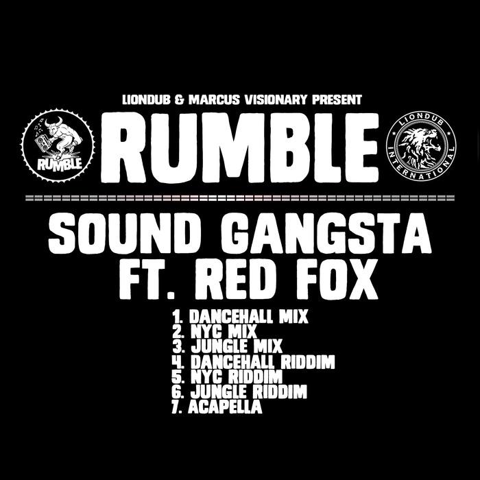 RUMBLE feat RED FOX - SOUND GANGSTA