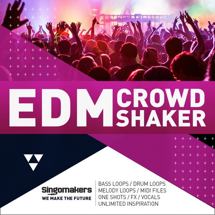 SINGOMAKERS - EDM Crowd Shaker (Sample Pack WAV/APPLE/LIVE/REASON)