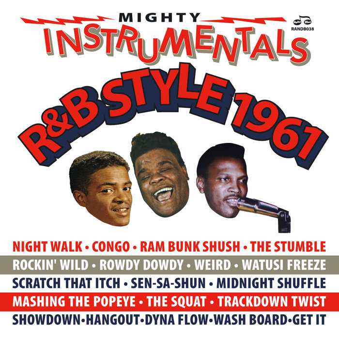 VARIOUS - Mighty Instrumentals R&B-Style 1961
