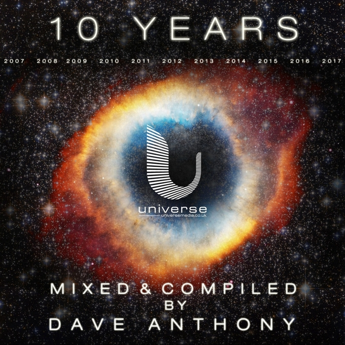 DAVE ANTHONY/VARIOUS - 10 Years Of Universe Media (unmixed tracks)