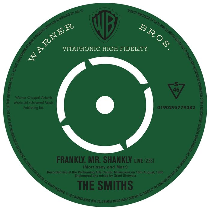 THE SMITHS - Frankly Mr. Shankly (Live)