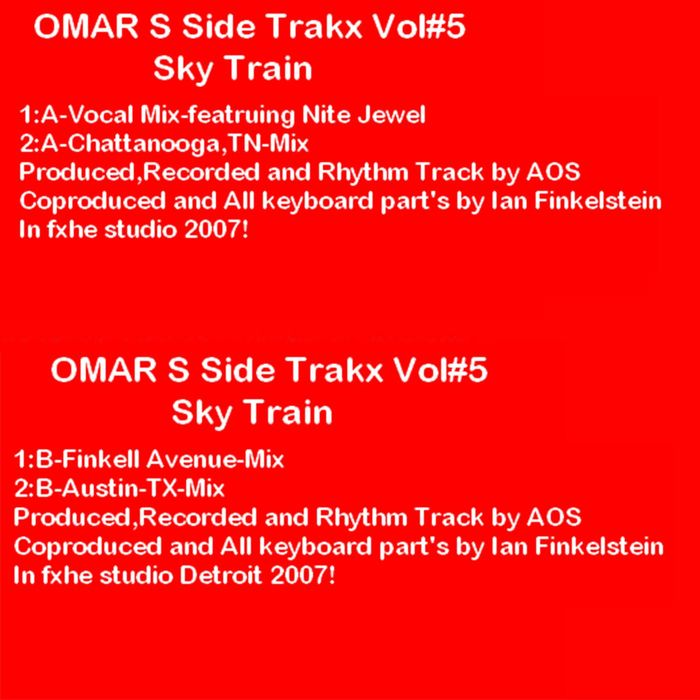 OMAR S feat NITE JEWEL - Side Trakx, Vol 5
