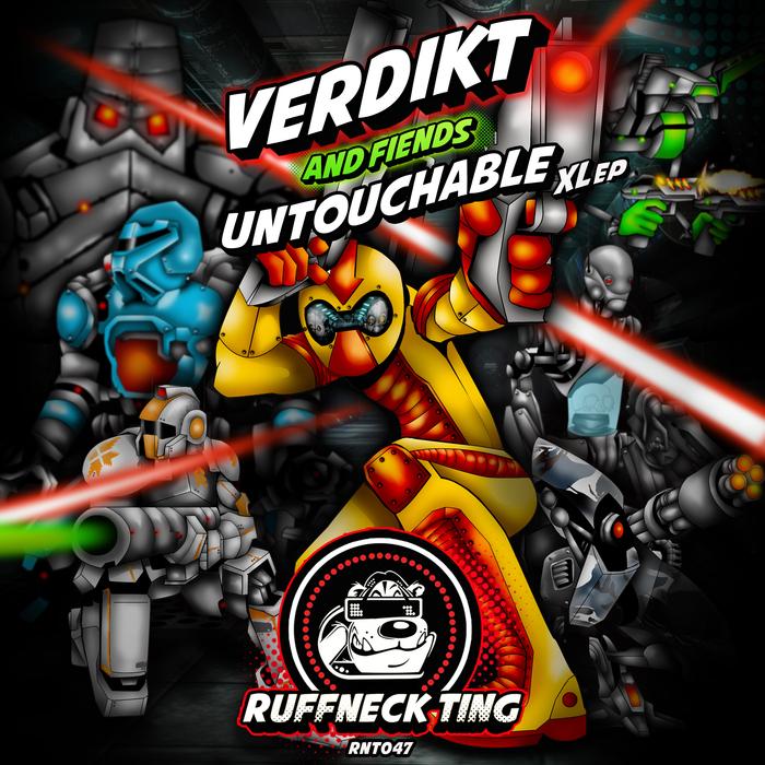 VERDIKT & FIENDS - Untouchable XLEP