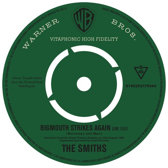 THE SMITHS - Bigmouth Strikes Again (Live)