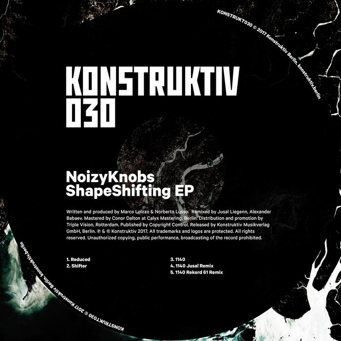 NOIZYKNOBS - ShapeShifting EP