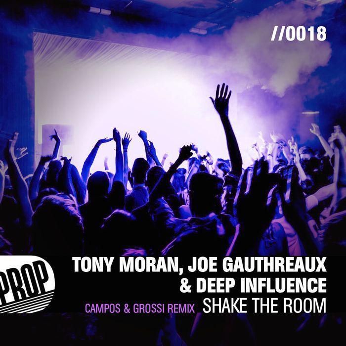 TONY MORAN/JOE GAUTHREAUX/DEEP INFLUENCE feat ZHANA ROIYA - Shake The Room