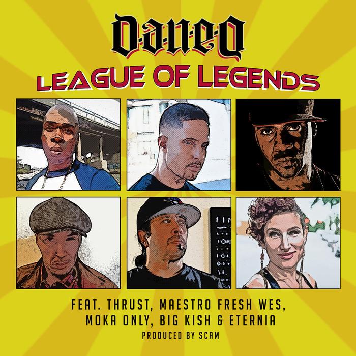 DAN-E-O feat MOKA ONLY - League Of Legends