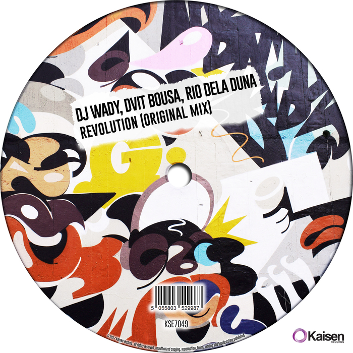 DJ WADY/DVIT BOUSA & RIO DELA DUNA - Revolution
