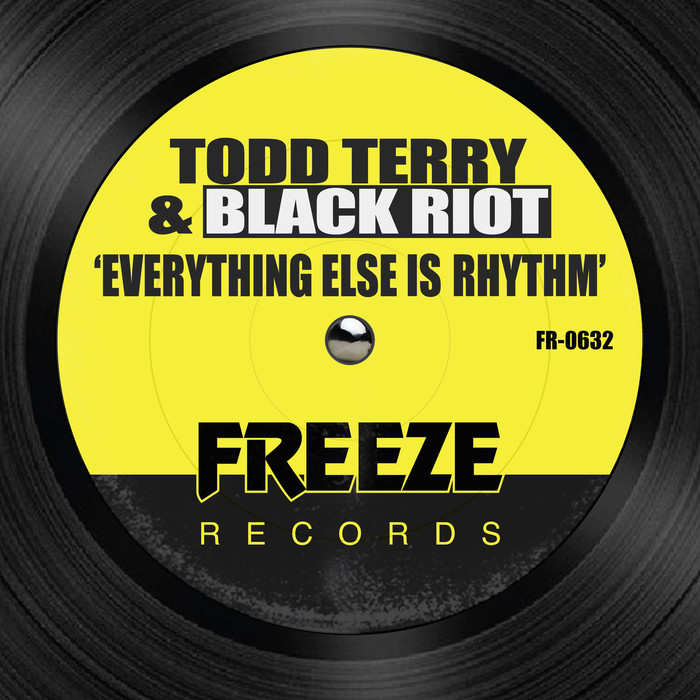 TODD TERRY/BLACK RIOT - Everything Else Is Rhythm