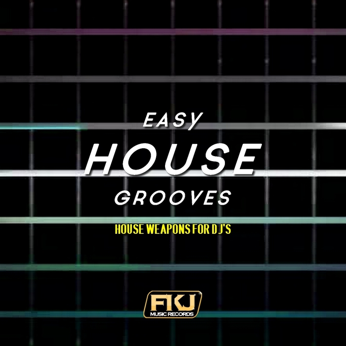 VARIOUS - Easy House Grooves (House Weapons For DJ's)