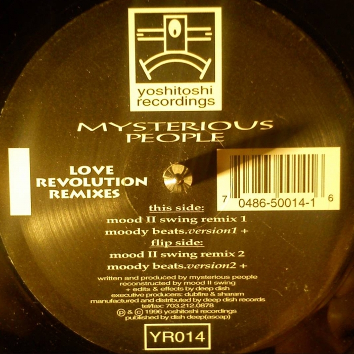 MYSTERIOUS PEOPLE - Love Revolution (Remixes)