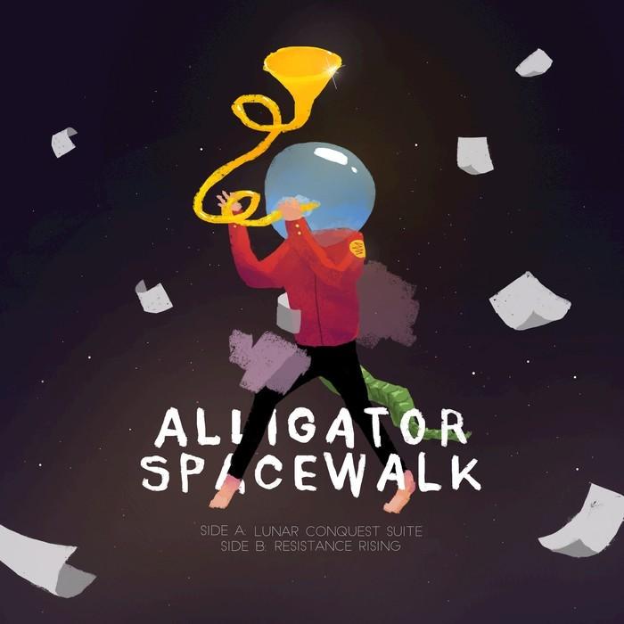 ALLIGATOR SPACEWALK - Lunar Conquest Suite/Resistance Rising