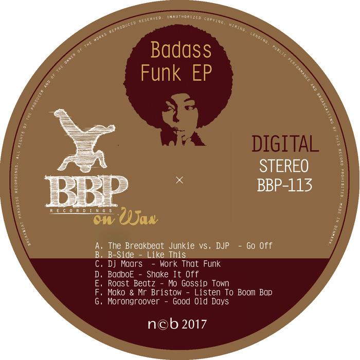 VARIOUS - Badass Funk EP