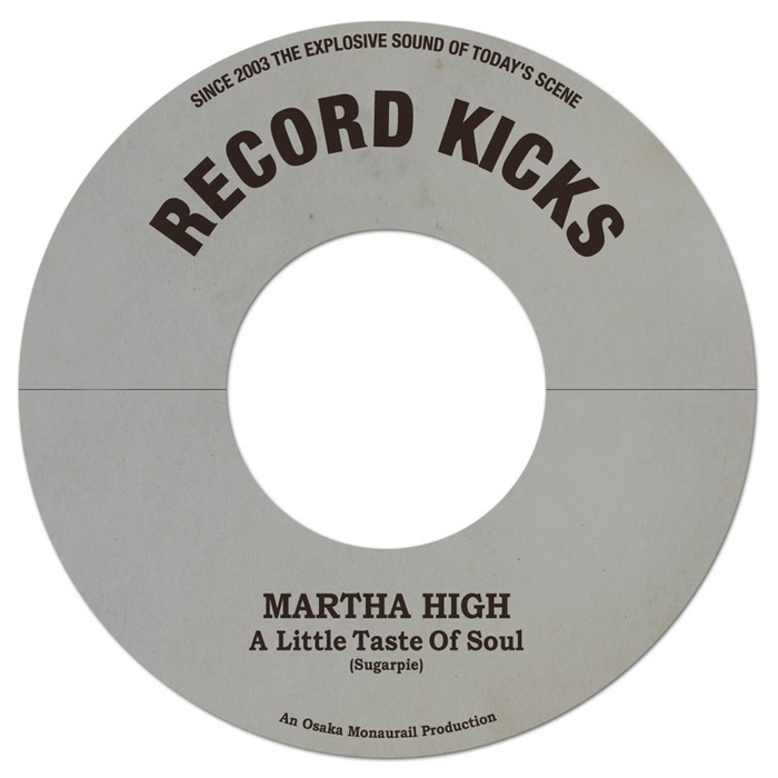 MARTHA HIGH - A Little Taste Of Soul