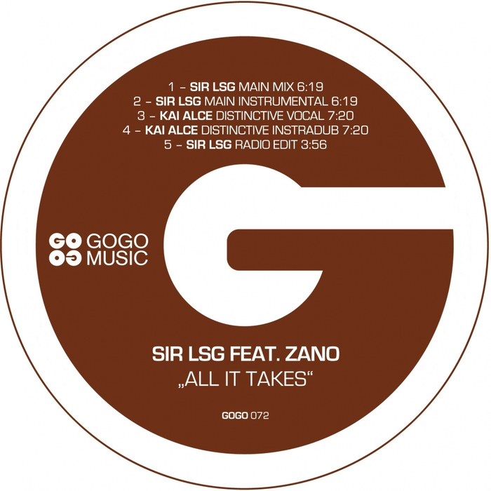 SIR LSG feat ZANO - All It Takes
