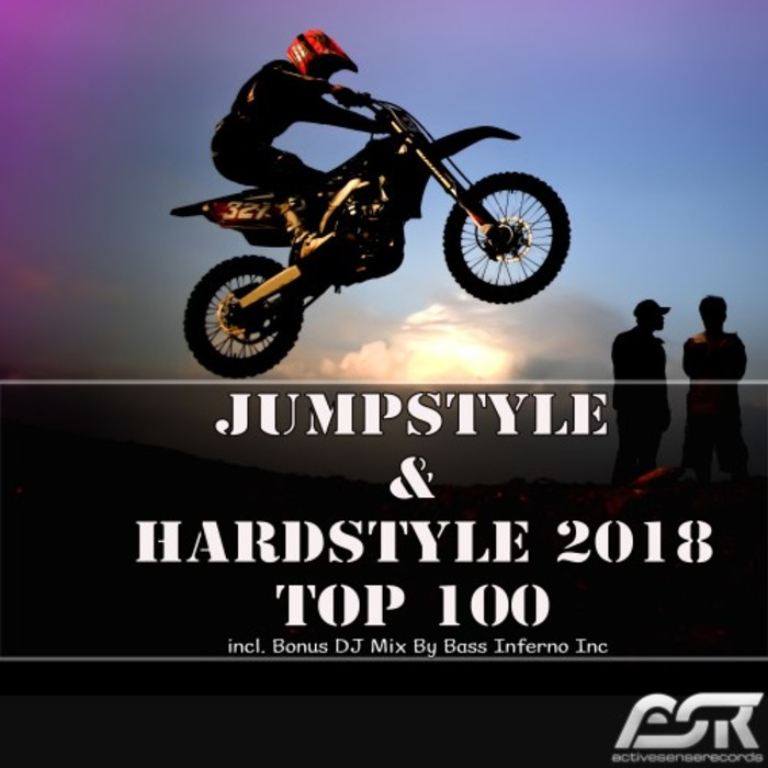 VARIOUS - Jumpstyle & Hardstyle 2018 Top 100 (Incl Bonus DJ Mix By Bass Inferno Inc)