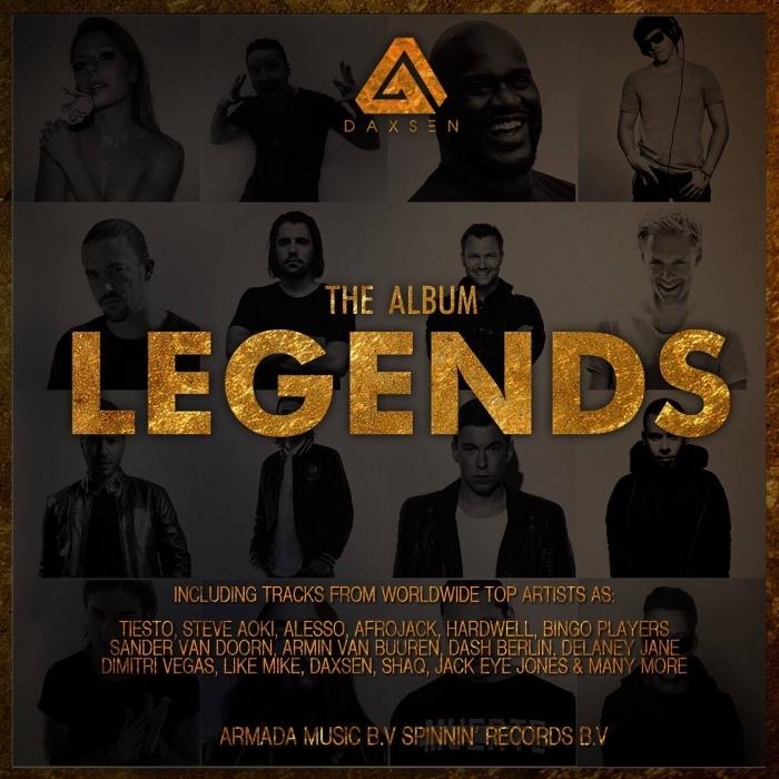 VARIOUS - LEGENDS (The Album) (Explicit)