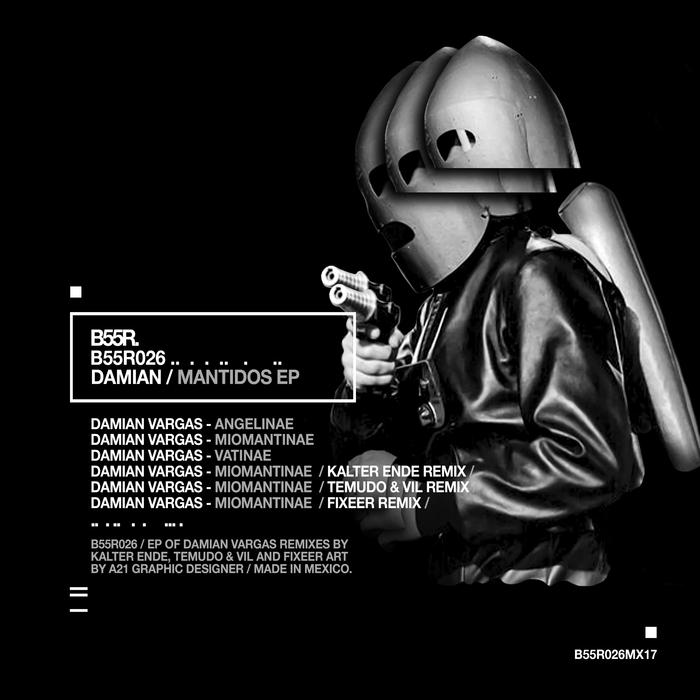 DAMIAN VARGAS - Mantidos EP