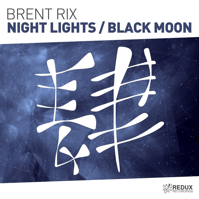 BRENT RIX - Night Lights/Black Moon