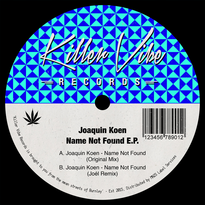JOAQUIN KOEN - Name Not Found EP