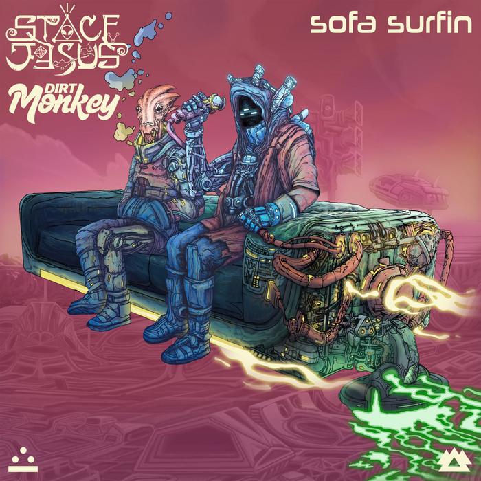 SPACE JESUS/DIRT MONKEY - Sofa Surfin