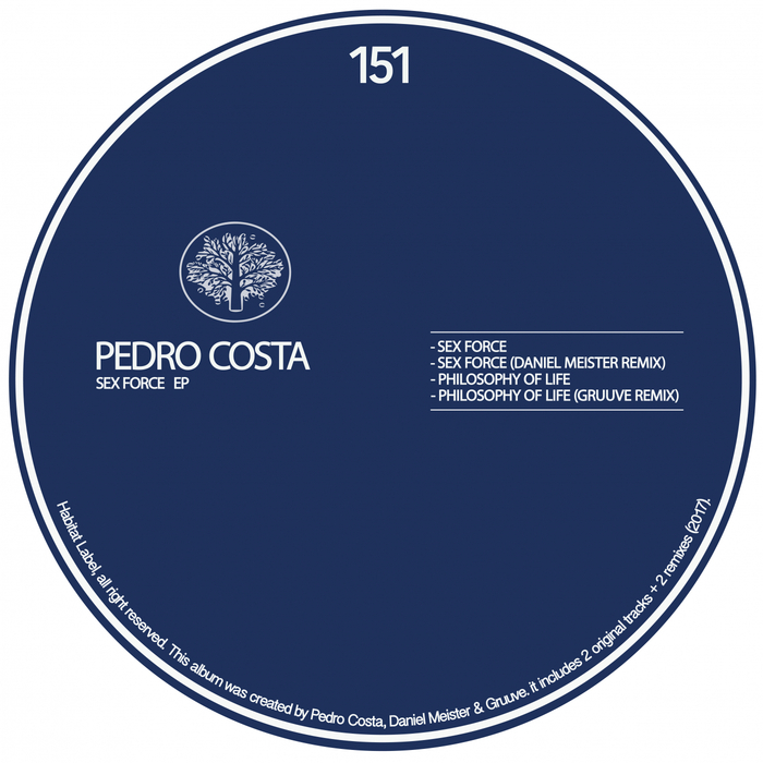 PEDRO COSTA - Sex Force EP