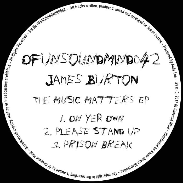 JAMES BURTON - The Music Matters EP