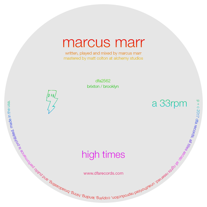 MARCUS MARR - High Times