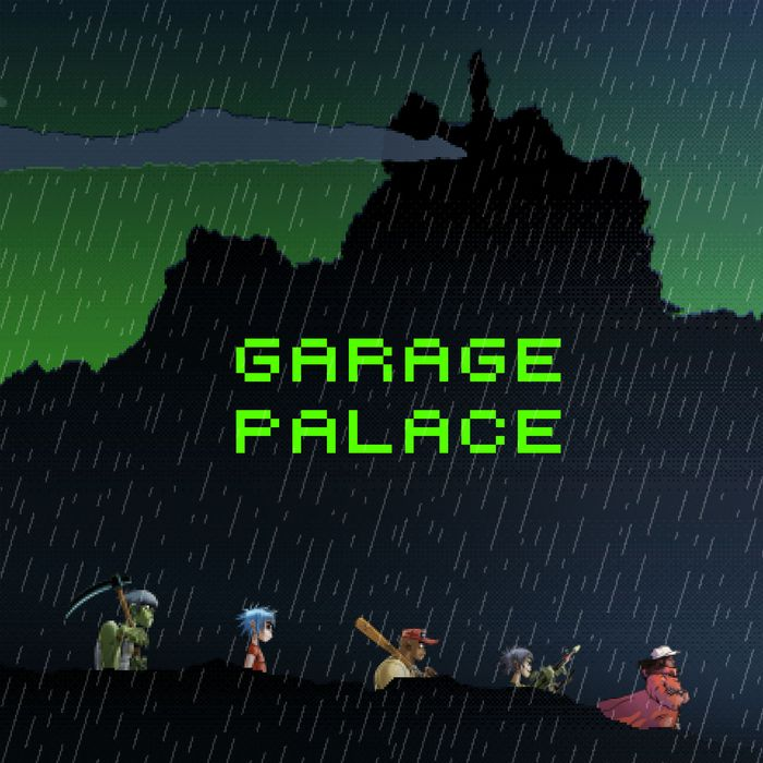 GORILLAZ feat LITTLE SIMZ - Garage Palace