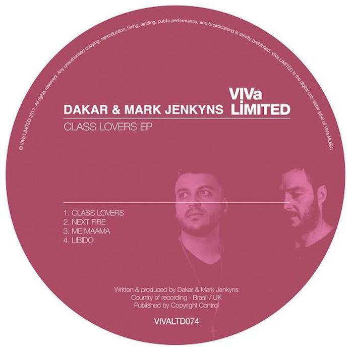 DAKAR & MARK JENKYNS - Class Lovers EP