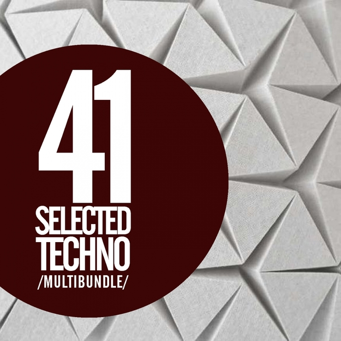 VARIOUS - 41 Selected Techno Multibundle