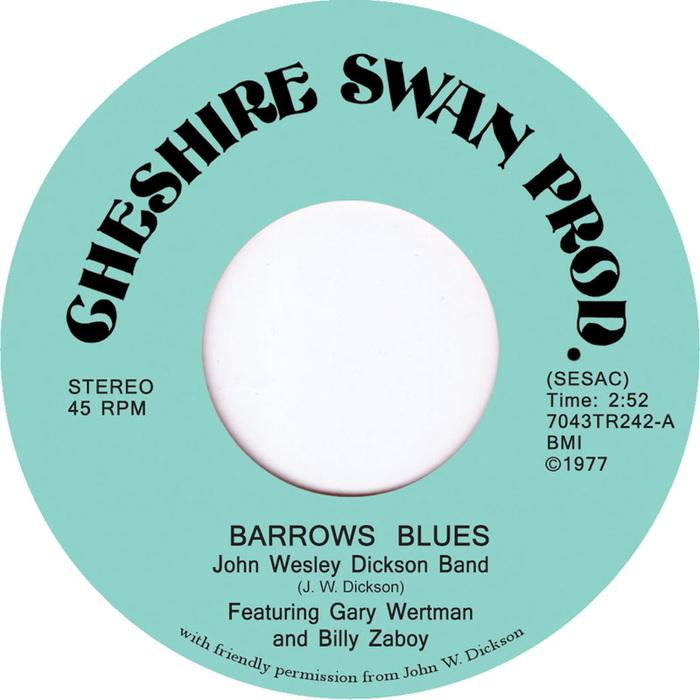 JOHN WESLEY DICKSON BAND - Barrows Blues